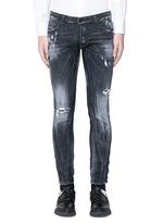 'Clement' shot wash slim fit jeans
