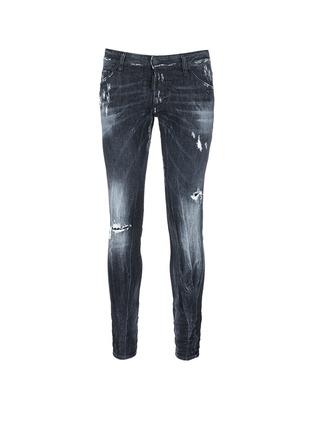Dsquared2-'Clement' shot wash slim fit jeans