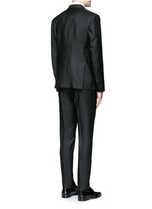 Dsquared2 - 'Beverly Hills' satin trim wool-silk tuxedo suit