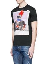 Punk print T-shirt