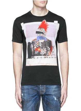 Main View - Click To Enlarge - Dsquared2 - Punk print T-shirt