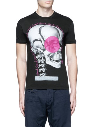 Main View - Click To Enlarge - Dsquared2 - Skull print T-shirt