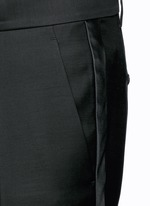 'Admiral' wool-silk evening pants