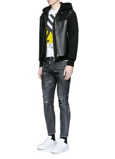 Dsquared2 'Clement' distressed slim fit jeans