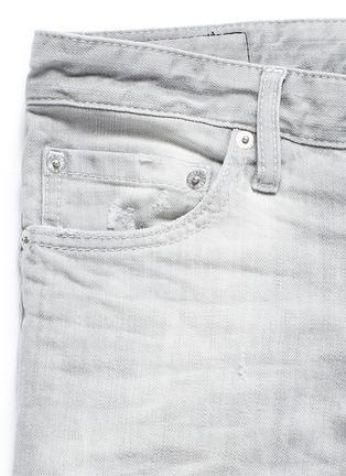 - Dsquared2 - Slim fit rip and repair jeans