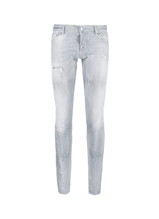 Main View - Click To Enlarge - Dsquared2 - Slim fit rip and repair jeans