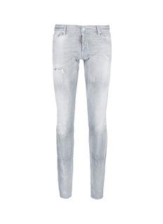 Dsquared2Slim fit rip and repair jeans