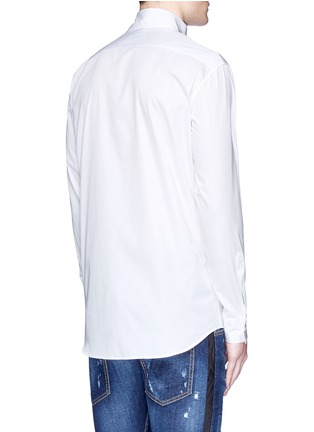 Back View - Click To Enlarge - Dsquared2 - Kimono collar cotton shirt