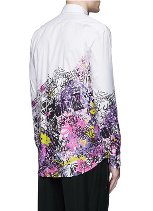 Back View - Click To Enlarge - Dsquared2 - 'Relaxed Dan' manga print shirt