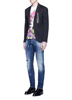 Dsquared2 Manga print French terry sweatshirt
