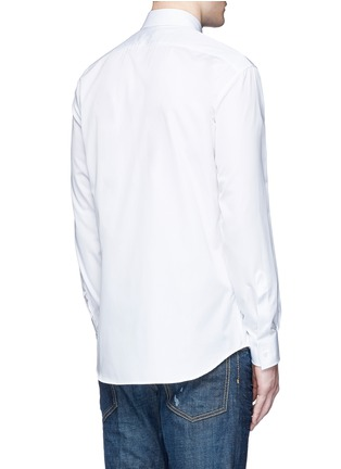 Back View - Click To Enlarge - Dsquared2 - Multi zip cotton shirt