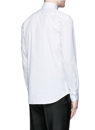 Back View - Click To Enlarge - Dsquared2 - Slim fit tuxedo shirt