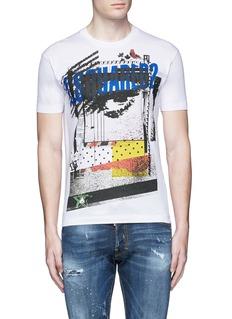 Dsquared2Eye print T-shirt
