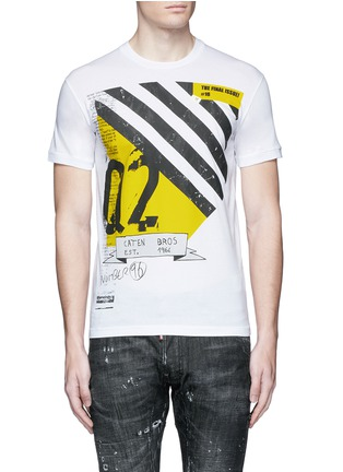 Main View - Click To Enlarge - Dsquared2 - Graphic print T-shirt