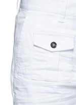 'Tizzy' cropped cotton chinos