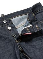 'Slim' rolled cuff jeans