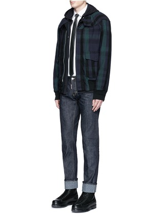 Figure View - Click To Enlarge - Dsquared2 - 'Slim' rolled cuff jeans