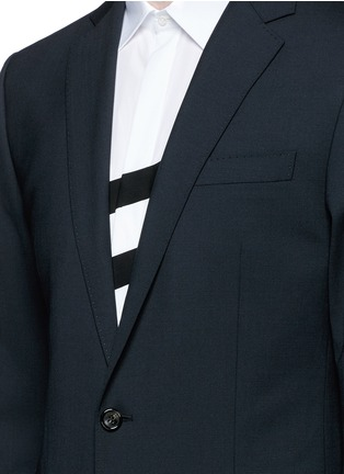 Detail View - Click To Enlarge - Dsquared2 - 'Paris' stretch wool suit