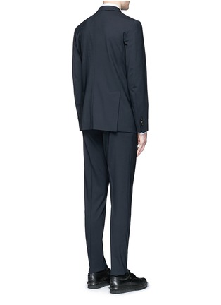 Back View - Click To Enlarge - Dsquared2 - 'Paris' stretch wool suit