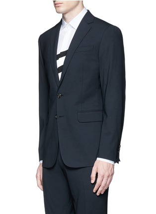 Front View - Click To Enlarge - Dsquared2 - 'Paris' stretch wool suit