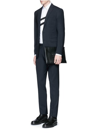 Figure View - Click To Enlarge - Dsquared2 - 'Paris' stretch wool suit