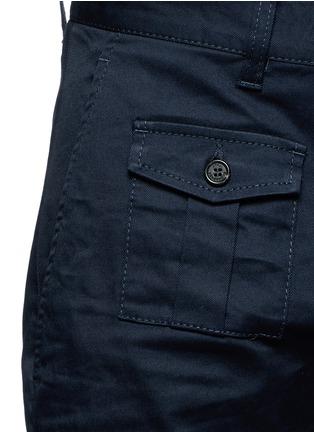 细节 - 点击放大 - DSQUARED2 - 棉质八分斜纹布裤