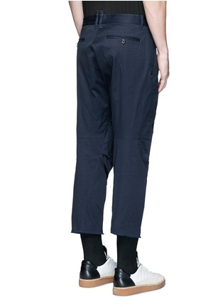 Back View - Click To Enlarge - Dsquared2 - 'Tizzy' cropped cotton chinos