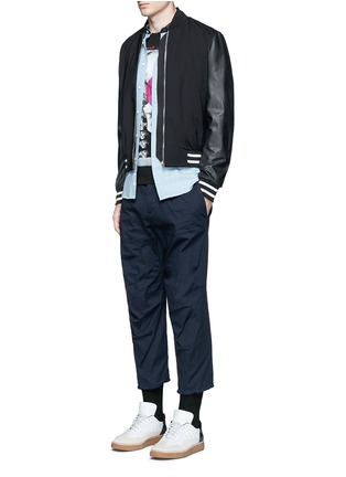 Figure View - Click To Enlarge - Dsquared2 - 'Tizzy' cropped cotton chinos