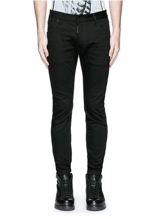 Dsquared2-'Twiggy Boy' zip cuff slim fit jeans