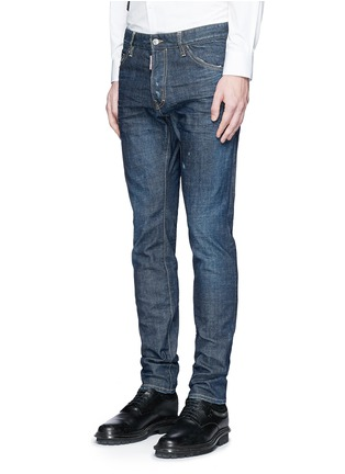 Front View - Click To Enlarge - Dsquared2 - 'Cool Guy' slim fit jeans
