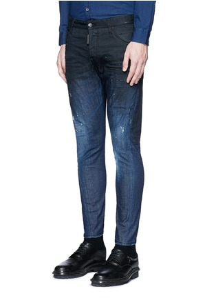 Dsquared2 - 'Sexy Twist' rip and repair slim fit jeans