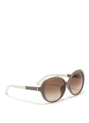 CHLOÉ-圆形板材镜框太阳眼镜