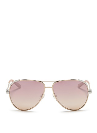 Chloé - Gradient metal aviator sunglasses