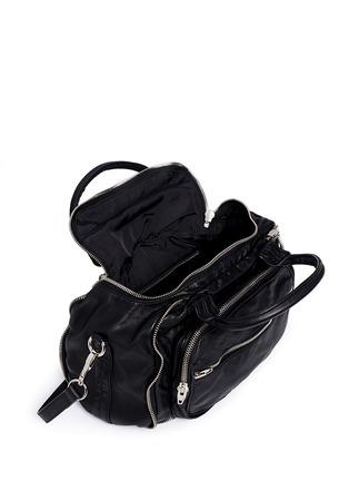 Alexander Wang -'Eugene' washed leather zip satchel