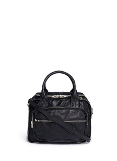 ALEXANDER WANG  'Eugene' washed leather zip satchel