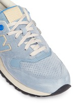 '999 Elite Edition' suede sneakers