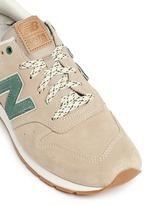 '996 Wood Story' suede sneakers