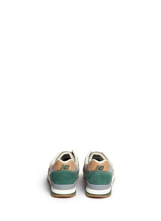 Back View - Click To Enlarge - New Balance - '996 Wood Story' suede sneakers