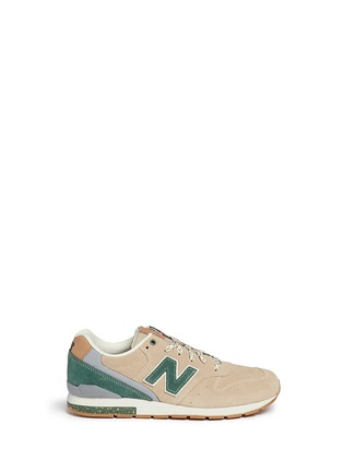 Main View - Click To Enlarge - New Balance - '996 Wood Story' suede sneakers