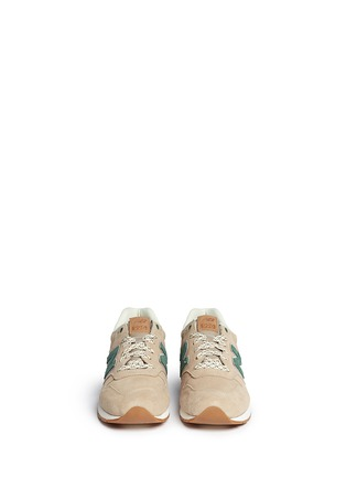 Figure View - Click To Enlarge - New Balance - '996 Wood Story' suede sneakers