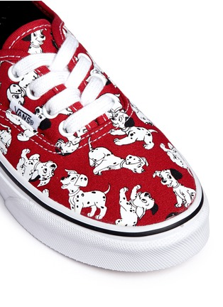 Detail View - Click To Enlarge - Vans - x Disney 'Authentic' 101 Dalmatians print canvas kids sneakers