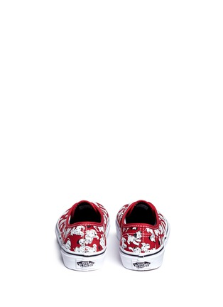 Back View - Click To Enlarge - Vans - x Disney 'Authentic' 101 Dalmatians print canvas kids sneakers