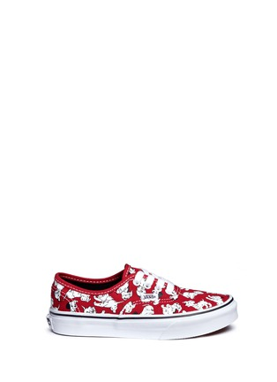 Main View - Click To Enlarge - Vans - x Disney 'Authentic' 101 Dalmatians print canvas kids sneakers