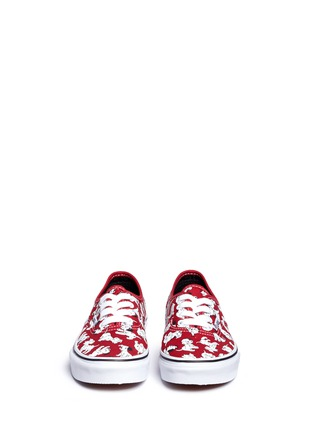 Figure View - Click To Enlarge - Vans - x Disney 'Authentic' 101 Dalmatians print canvas kids sneakers