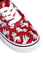 x Disney 'Authentic' 101 Dalmatians print canvas toddler sneakers