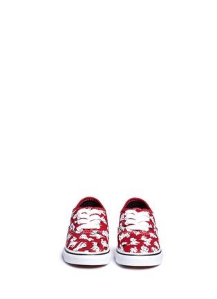 Vans-x Disney 'Authentic' 101 Dalmatians print canvas toddler sneakers