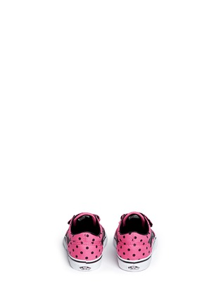 Vans - 'Old Skool V' polka dot canvas toddler sneakers