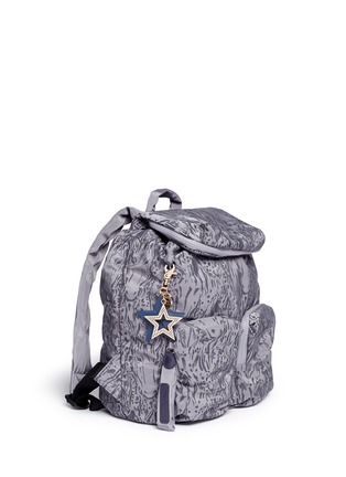 Figure View - Click To Enlarge - See by Chloé - 'Joy Rider' streak print nylon backpack