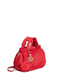 SEE BY CHLOÉ'Joy Rider' small leather strap nylon puffer bag