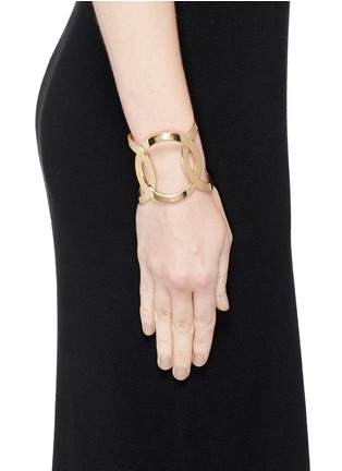 Figure View - Click To Enlarge - Philippe Audibert - Cutout chain link cuff